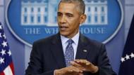 """""""Dieser Job hat eine solches Ausmaß, den kann man nicht alleine machen."""" Barack Obama bei seiner letzten Pressekonferenz als 44. Präsident der Vereinigten Staaten."""