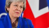 Theresa May auf dem Treffen der 27 EU-Staats- und Regierungschefs in Brüssel