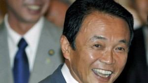 Taro Aso zum Premier gewählt