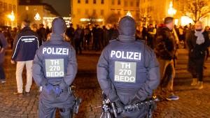 Polizei setzt Pfefferspray in Hildburghausen ein