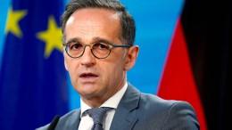 Maas lehnt Ideen zu Grenzverschiebungen auf dem Balkan ab