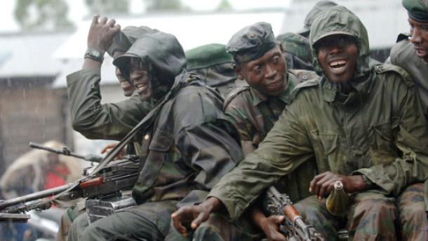 Ruandische Soldaten in Kongo eingerückt
