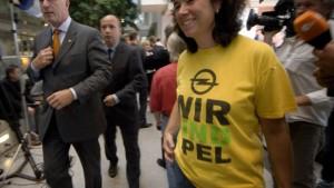 Viel Glück mit New Opel