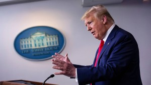 Trumps gefährliche Wundermittel-Wette