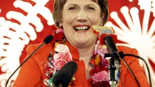 Hauchdünner Sieg für Labour in Neuseeland