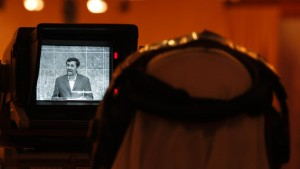 TV-Sender überträgt Ansprache Ahmadinedschads