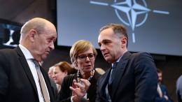 Die Nato-Mission des Heiko Maas