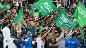 Frauen in Saudi-Arabien dürfen Fußballspiele besuchen