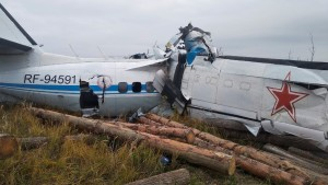 Flugzeug mit Fallschirmspringern an Bord abgestürzt