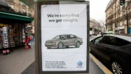 Protest mit falschen Werbeanzeigen