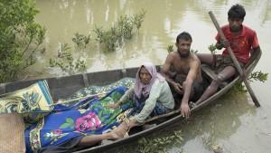 Burma vermint angeblich Grenze zu Bangladesch