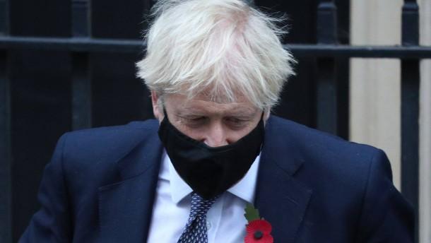 Ein Premierminister in der Klemme