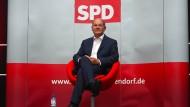 Finanzminister und SPD-Kanzlerkandidat Olaf Scholz bei einer Veranstaltung im August 2020 in Ahlen