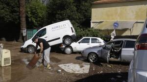 Mindestens 16 Tote nach Starkregen an der Côte d'Azur