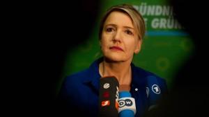Grünen-Chefin bringt Rot-Rot-Grün ins Spiel