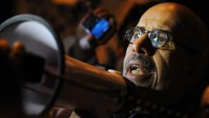 El Baradei fordert Rücktritt Mubaraks
