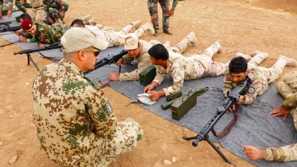 Tunesien zeigt sich offen für einen Einsatz deutscher Militärausbilder