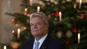 Gauck wirbt um Verständnis für Flüchtlinge