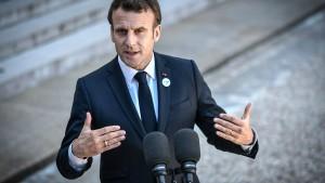 Macron wirft Moskau Förderung von Rechtspopulisten in der EU vor