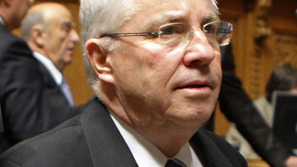 Justizminister Blocher scheitert bei Regierungswahl