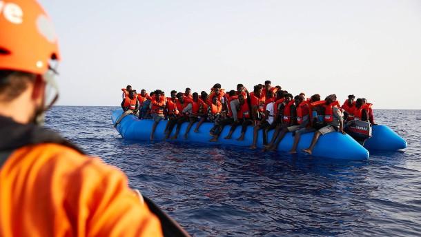 Flüchtlinge in Sicht!
