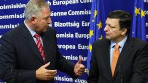 Slowenien bremst Kroatien aus