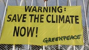 UN: Den Klimawandel zu leugnen ist kriminell