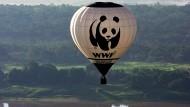 WWF-Ballon über dem Amazonas (Archivbild von 2006)