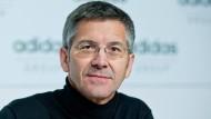Seit 13 Jahren Adidas-Chef: Herbert Hainer
