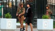 Sicherheitsmaßnahmen in Taschkent