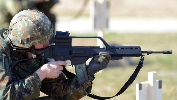 Unsere Waffen sind hundert Prozent einsatzfähig