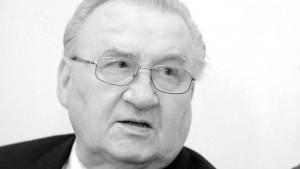 Michal Kovac ist gestorben