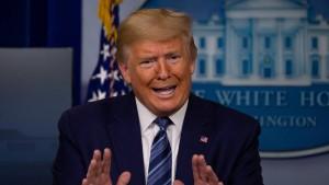 Ein Telefonat macht aus Trump keinen Versöhner