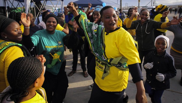 ANC vor Wahlsieg in Südafrika