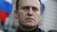 Hat schon länger angekündigt, nach Russland zurückkehren zu wollen: Kreml-Kritiker Alexej Nawalnyj