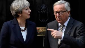 Das desaströse Brexit-Dinner