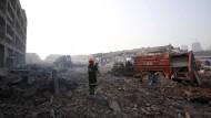Behörden melden 85 Feuerwehrmänner als vermisst