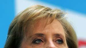 Vorfahrt für Merkel, Mehrheit für Müntefering