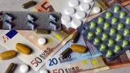Bares Geld: Ungebrauchte Medikamente