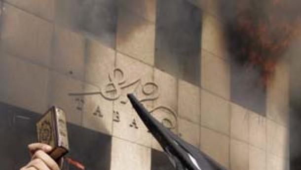 Dänisches Konsulat in Beirut in Brand gesetzt