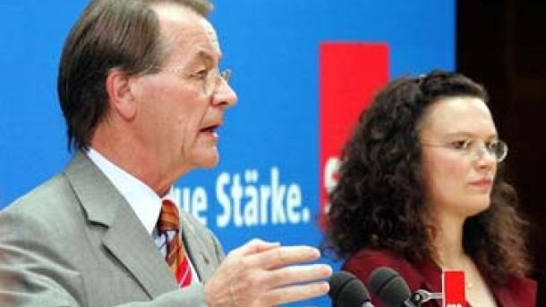 Nahles, Wasserhövel oder niemand: Wer wird SPD-Generalsekretär?