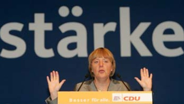 CDU sieht Ende ihres Höhenflugs
