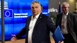 Eingeknickt vor Viktor Orbán?