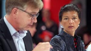 Wagenknecht und Bartsch sollen Fraktion führen