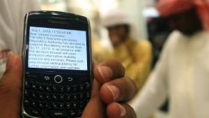 """Saudi-Arabien sperrt """"Blackberry""""-Dienste"""