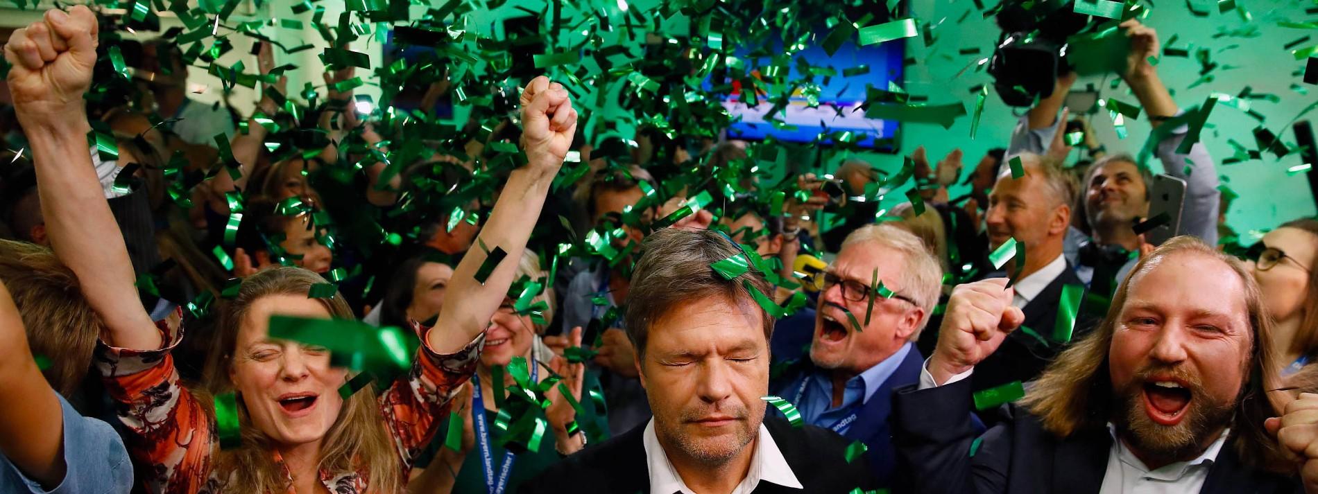 Wie sich die Grünen selbst zähmten