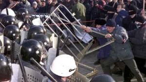 Proteste gegen Kutschma spitzen sich zu