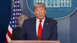 Trump will die Wirtschaft zu Ostern wieder hochfahren