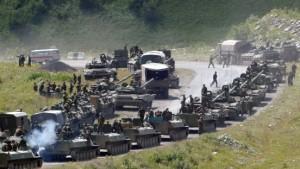 Bush: Russland muss Angriffe einstellen