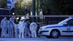 Anschlag auf französische Botschaft in Athen